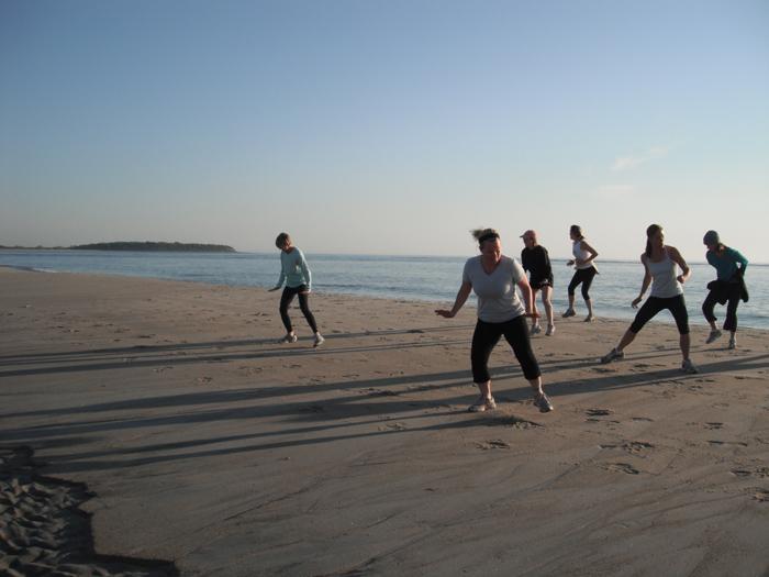 Agility Training on the Beach