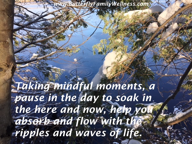 Mindful winter moments
